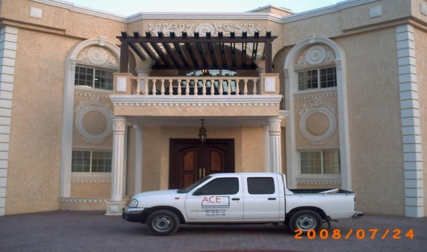 Complete Renovated villa (External & Internal including Landscaping)-in Muafjah Sharjah